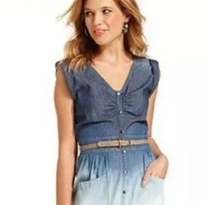 JESSICA SIMPSON OMBRE DRESS SMALL